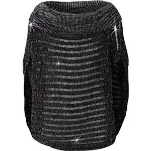 BODYFLIRT Pullover in schwarz für Damen von bonprix