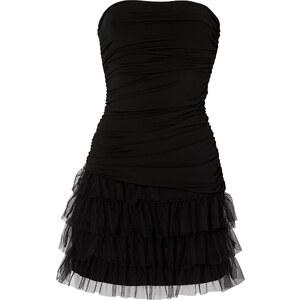 BODYFLIRT Shirtkleid ohne Ärmel in schwarz von bonprix