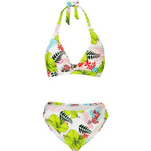 RAINBOW Neckholder-Bikini in grün für Damen von bonprix