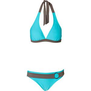 BODYFLIRT Neckholderbikini in blau für Damen von bonprix