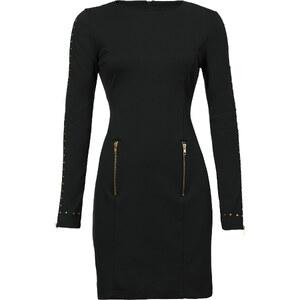 BODYFLIRT boutique Kleid langarm in schwarz von bonprix