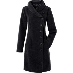 BODYFLIRT Mantel langarm in schwarz für Damen von bonprix