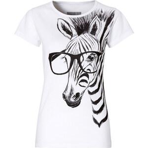 RAINBOW T-Shirt kurzer Arm in weiß (Rundhals) für Damen von bonprix