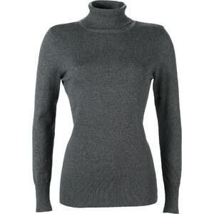 bpc bonprix collection Rollkragen-Pullover langarm in grau für Damen von bonprix