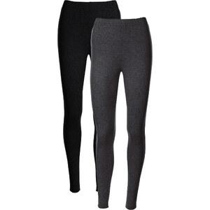 bpc bonprix collection Stretch-Leggings (2er-Pack) in grau für Damen von bonprix