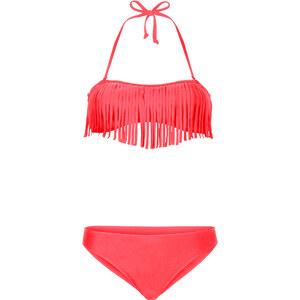 BODYFLIRT Bandeau-Bikini in rot für Damen von bonprix