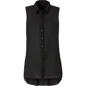 BODYFLIRT Bluse ohne Ärmel in schwarz von bonprix