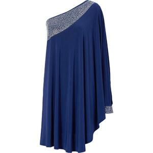 BODYFLIRT boutique Kleid ohne Ärmel in blau von bonprix