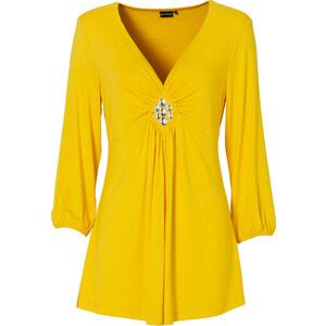 BODYFLIRT 3/4-Arm-Shirt in gelb für Damen von bonprix