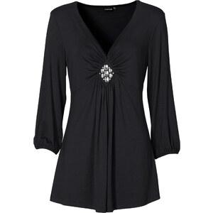 BODYFLIRT 3/4-Arm-Shirt in schwarz für Damen von bonprix