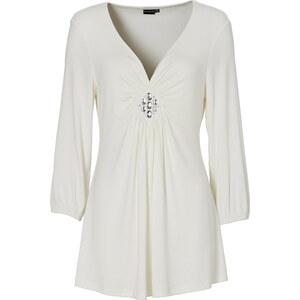 BODYFLIRT 3/4-Arm-Shirt in weiß für Damen von bonprix