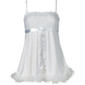 Babydoll in weiß für Damen von bonprix