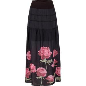 BODYFLIRT Maxirock in schwarz für Damen von bonprix