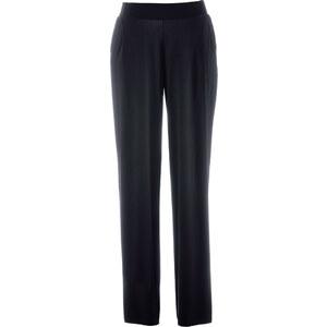 bpc bonprix collection Palazzo-Jersey-Hose in schwarz für Damen von bonprix