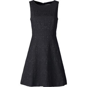 BODYFLIRT Jacquard-Kleid in schwarz von bonprix