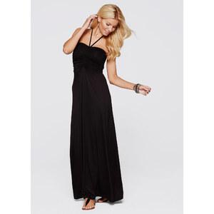 BODYFLIRT boutique Maxikleid ohne Ärmel in schwarz von bonprix