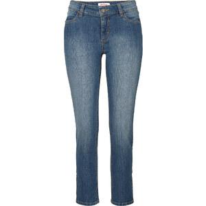 John Baner JEANSWEAR 7/8-Stretch-Jeans mit Reißverschlussdetails, Normal in blau für Damen von bonprix