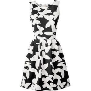 BODYFLIRT boutique Kleid in Scubaoptik Angela ohne Ärmel in schwarz von bonprix