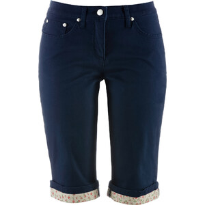 bpc bonprix collection Bermuda-Stretchhose in blau für Damen von bonprix