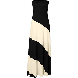 BODYFLIRT boutique Kleid ohne Ärmel in schwarz von bonprix