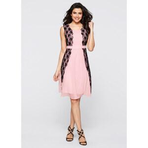 BODYFLIRT boutique Kleid in rosa von bonprix