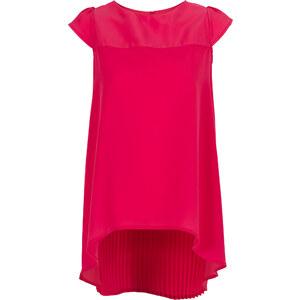 BODYFLIRT Bluse in pink (Rundhals) von bonprix