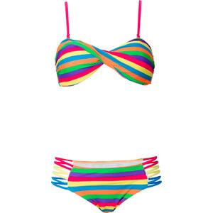 RAINBOW Bandeau Bikini (2-tlg. Set) in gelb für Damen von bonprix