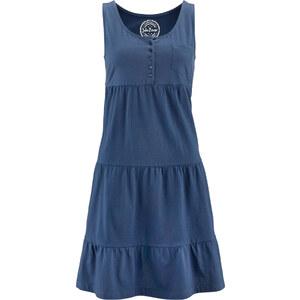 John Baner JEANSWEAR Shirt-Kleid ohne Ärmel in blau von bonprix