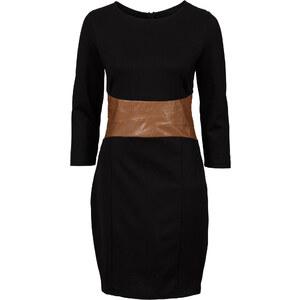BODYFLIRT boutique Shirtkleid in schwarz von bonprix