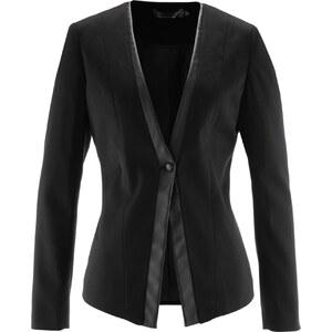 bpc selection Stretchblazer langarm in schwarz für Damen von bonprix