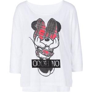Disney Shirt, Mickey Mouse halber Arm in weiß für Damen von bonprix