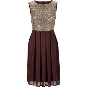 BODYFLIRT Kleid ohne Ärmel in braun (Rundhals) von bonprix