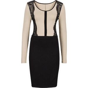 BODYFLIRT boutique Spitzenkleid in schwarz von bonprix