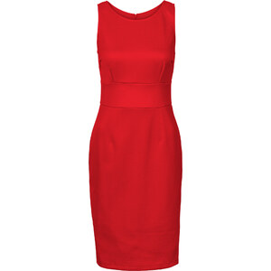 BODYFLIRT Scuba-Kleid in rot von bonprix
