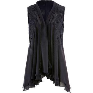 bpc selection premium Premium Blusen-Weste mit Spitze ohne Ärmel in schwarz von bonprix