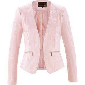 bpc selection Blazer langarm in rosa (V-Ausschnitt) für Damen von bonprix