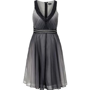 BODYFLIRT Kleid mit Farbverlauf in schwarz von bonprix