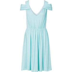 BODYFLIRT Jersey Kleid in blau von bonprix