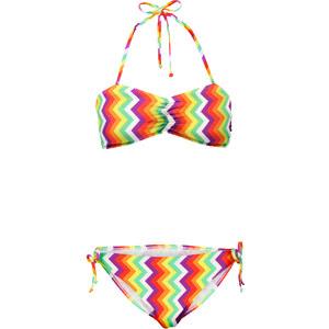 RAINBOW Bandeau Bikini (2-tlg. Set) in pink für Damen von bonprix