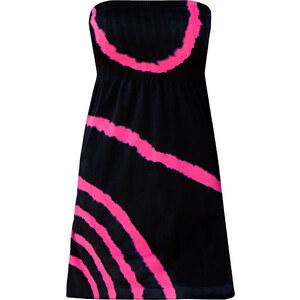 RAINBOW Bandeau Strandkleid in schwarz von bonprix