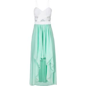 BODYFLIRT Kleid in weiß von bonprix