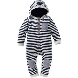 bpc bonprix collection Baby Overall Bio-Baumwolle langarm in blau von bonprix
