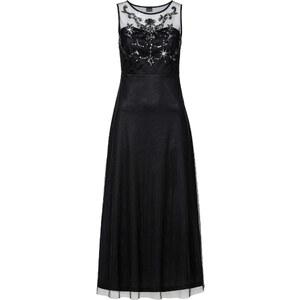 BODYFLIRT Abendkleid ohne Ärmel in schwarz (Rundhals) von bonprix