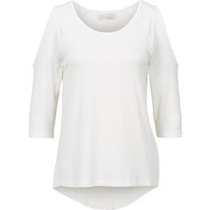 BODYFLIRT Shirt 3/4 Arm in weiß für Damen von bonprix