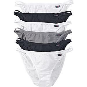 bpc bonprix collection Tanga (6er-Pack) in schwarz für Damen von bonprix