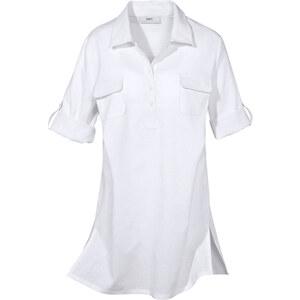 bpc selection Bluse halber Arm in weiß von bonprix