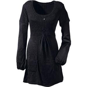 BODYFLIRT Pullover langarm in schwarz (Rundhals) für Damen von bonprix