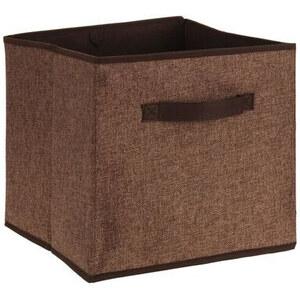 Lesara Aufbewahrungs-Box mit Griff - Braun