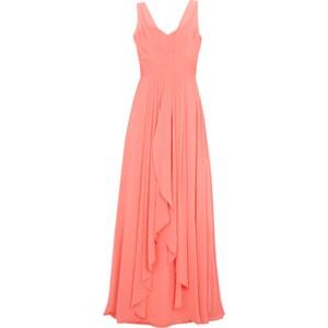 Jora Collection Abendkleid mit locker fallendem Besatz
