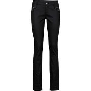 RAINBOW Beschichtete Hose in schwarz für Damen von bonprix